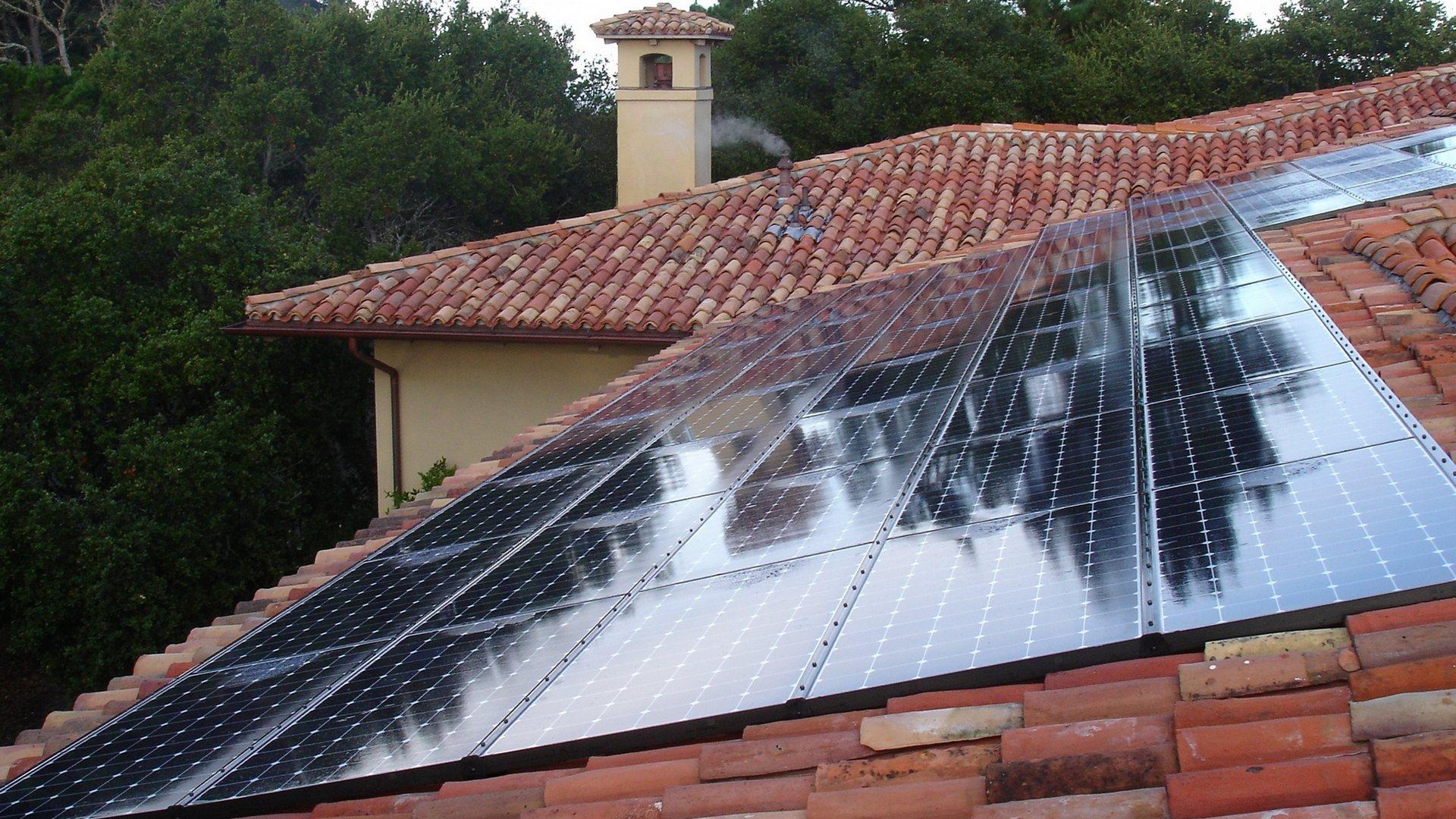 solar in tile